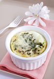 Baked Eggs For Breakfast Royalty Free Stock Images
