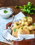 Baked Falafel Royalty Free Stock Photography
