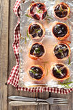 Baked Figs. Stock Photography