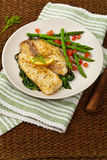 Baked Fish Fillet Royalty Free Stock Photography