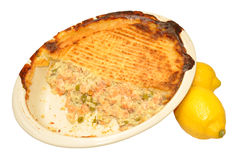 Baked Fish Pie Royalty Free Stock Image