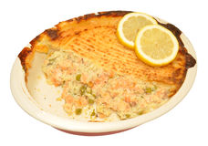 Baked Fish Pie Royalty Free Stock Photo
