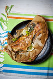 Baked fish Royalty Free Stock Photography