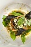 Baked Flounder Stock Photos