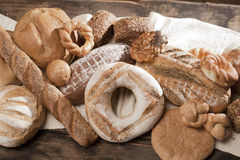 Baked food in rustic cuisine Royalty Free Stock Image