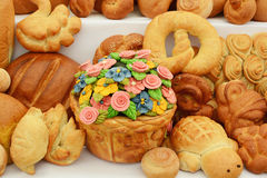 Baked foods Royalty Free Stock Photography