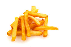 Baked French fries Stock Image