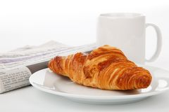 Baked Goods, Croissant, Pain Au Chocolat, Danish Pastry Stock Photos