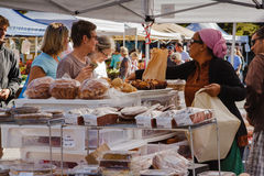 Baked Goods Farmers Market Virginia Stock Photography