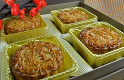 Baked Goods, Food, Mooncake, Finger Food stock images