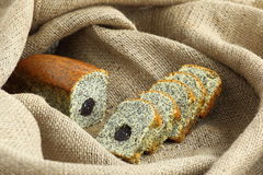 Baked Goods with Poppy. Fresh Homemade baked goods with poppy seed Stock Photography