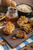 Baked granola Stock Photos