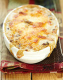 Baked gratin Stock Photography