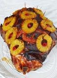 Baked ham. Royalty Free Stock Photos