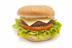 Baked hamburger Royalty Free Stock Photography