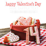 Baked Hearts For Valentine S Day Stock Images