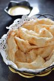 Baked Indian Naan Royalty Free Stock Images
