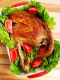 Baked lamb Stock Image