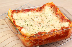 Baked Lasagna Royalty Free Stock Photos