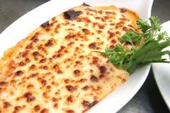 Baked lasagna Royalty Free Stock Image