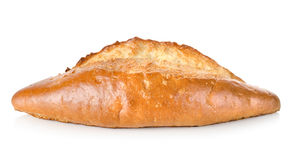 Baked long loaf Stock Image