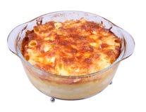 Baked macaroni Royalty Free Stock Image