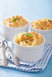 Baked macaroni with cheese Stock Photography