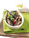 Baked mackerel Stock Photography