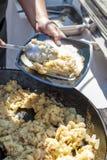 Baked mashed potato Royalty Free Stock Images