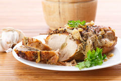 Baked meat Stock Photo