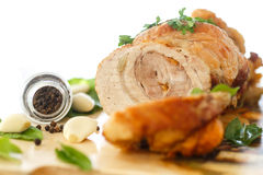 Baked meat Stock Image