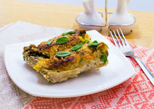 Baked meat rolls with stuffing Royalty Free Stock Photos