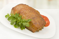 Baked meatloaf Royalty Free Stock Image