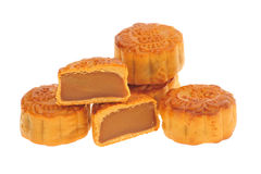 Baked Moon Cakes Stock Photography