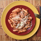 Baked Mostaccioli Stock Photos