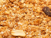Baked Muesli background Royalty Free Stock Photos