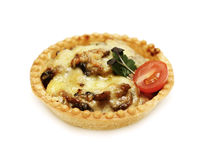 Baked mushroom with cheese Royalty Free Stock Photo