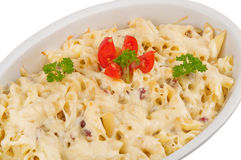 Baked pasta Royalty Free Stock Photos