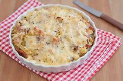 Baked Pasta Stock Photo