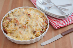Baked Pasta Royalty Free Stock Photography