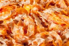 Baked Pasta Closeup Stock Photography