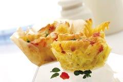 Baked pasta dish Royalty Free Stock Photography
