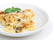 Baked Pasta Dish Royalty Free Stock Photography
