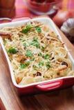 Baked pasta Royalty Free Stock Image