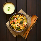 Baked Pasta and Vegetable Casserole Stock Photography