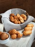 Baked Pastries Stock Photography