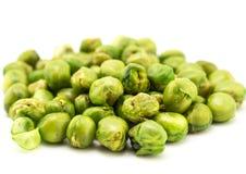 Baked pea bean on white background Stock Photos