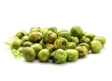 Baked pea bean on white background Stock Photo