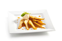 Baked Pear Stock Photography