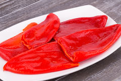 Baked peppers Royalty Free Stock Image
